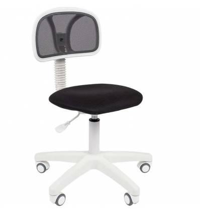 Кресло CHAIRMAN 250 WHITE/BLACK для оператора, белый пластик, цвет черный