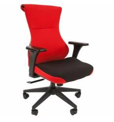 Кресло CHAIRMAN GAME 10/RED для руководителя (геймерское), ткань, цвет красный/черный