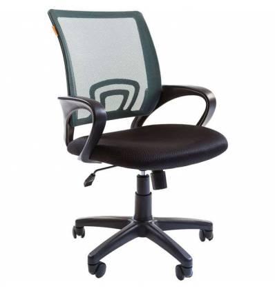 Кресло CHAIRMAN 696/GREEN для оператора, сетка/ткань, цвет зеленый/черный