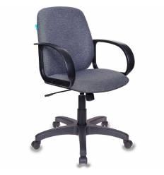 Кресло Бюрократ CH-808-LOW/G для руководителя, низкая спинка, цвет темно-серый