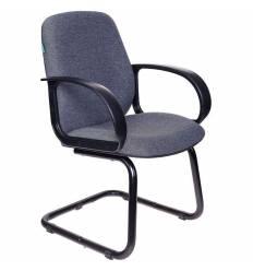 Кресло Бюрократ CH-808-LOW-V/G для посетителя, цвет темно-серый