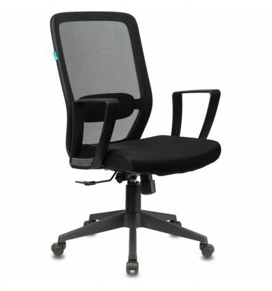 Кресло Бюрократ CH-899/B/TW-11 для оператора, сетка/ткань, цвет черный