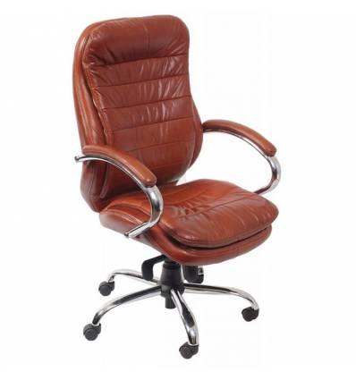 Кресло Бюрократ T-9950AXSN/BROWN для руководителя, цвет коричневый
