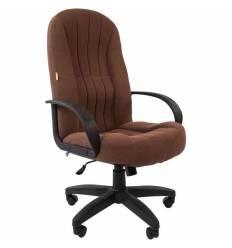 Кресло CHAIRMAN 685 SL/Brown для руководителя, ткань, цвет коричневый