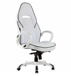 Кресло Good-Kresla Ralf White для руководителя, цвет белый