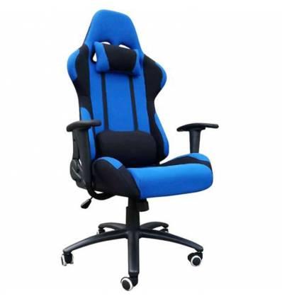 Кресло Good-Kresla Gamer Blue для руководителя, синий/черный