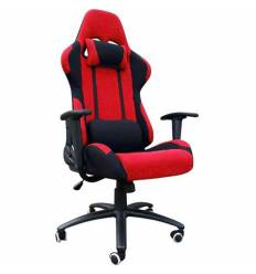 Кресло Good-Kresla Gamer Red для руководителя, красный/черный