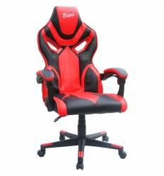 Кресло Trident GK-0101 Black and Red для руководителя, экокожа, цвет черный/красный