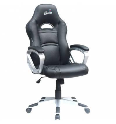 Кресло Trident GK-0707 Black для руководителя, экокожа, цвет черный