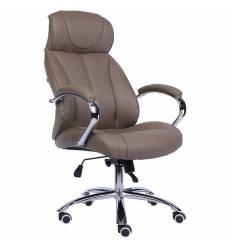 Кресло EVERPROF Forum PU Dark-Beige для руководителя, экокожа, цвет темно-бежевый