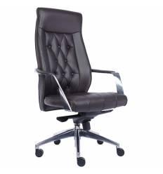 Кресло EVERPROF Venice PU Brown для руководителя, экокожа, цвет коричневый