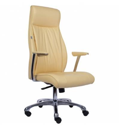 Кресло EVERPROF Wien PU Beige для руководителя, экокожа, цвет бежевый