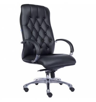 Кресло EVERPROF Monaco PU Black для руководителя, экокожа, цвет черный