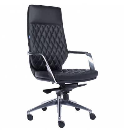 Кресло EVERPROF Roma PU Black для руководителя, экокожа, цвет черный