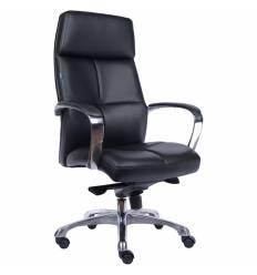 Кресло EVERPROF Madrid Black для руководителя, кожа, цвет черный