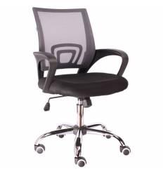 Кресло EVERPROF EP-696 Mesh Grey для оператора, сетка/ткань, цвет серый/черный