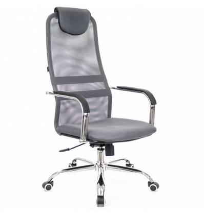 Кресло EVERPROF EP-708 Mesh Grey для оператора, сетка/ткань, цвет серый