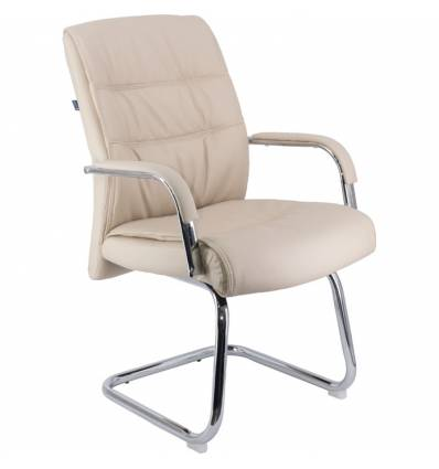 Кресло EVERPROF BOND CF PU Beige для посетителя, экокожа, цвет бежевый