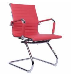 Кресло EVERPROF LEO CF PU Red для посетителя, экокожа, цвет красный