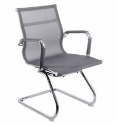Кресло EVERPROF OPERA CF Mesh Grey для посетителя, сетка, цвет серый