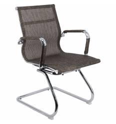 Кресло EVERPROF OPERA CF Mesh Brown для посетителя, сетка, цвет коричневый