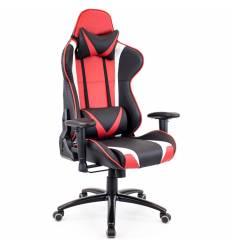 Кресло EVERPROF Lotus S13 PU Red игровое, экокожа, цвет красны/черный