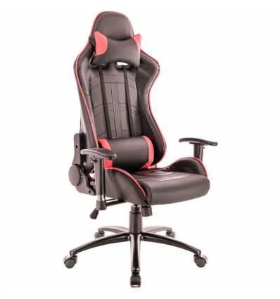 Кресло EVERPROF Lotus S10 PU Red игровое, экокожа, цвет красный/черный