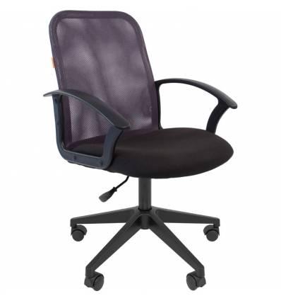 Кресло CHAIRMAN 615/GREY для оператора, сетка/ткань, цвет серый/черный