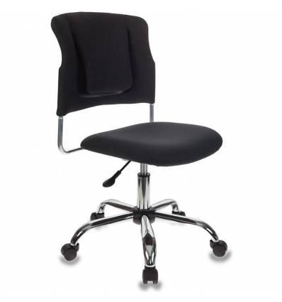 Кресло Бюрократ CH-322SXN/BLACK для оператора, ткань, цвет черный