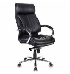 Кресло Бюрократ T-9904SL/BLACK для руководителя, экокожа, цвет черный