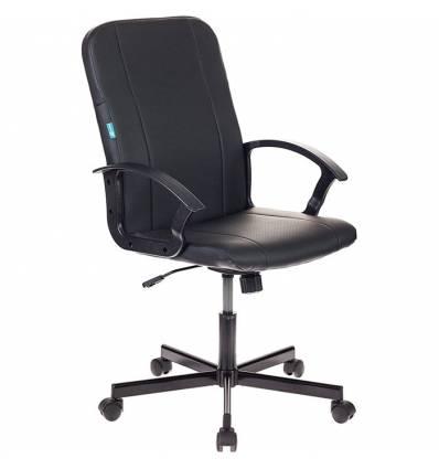 Кресло Бюрократ CH-551/BLACK для руководителя, экокожа, цвет черный