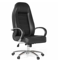 Кресло Officio Зеус ЗЕ-01 для руководителя, экокожа, цвет черный