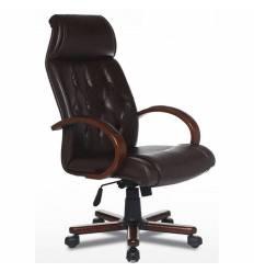 Кресло Officio Сапфир СА-01 для руководителя, экокожа, цвет черный