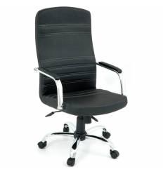 Кресло Officio Сун СУ-01 для руководителя, экокожа, цвет черный