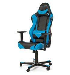 Кресло DXRacer OH/RF0/NB для руководителя, компьютерное, цвет черный/синий