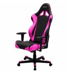 Кресло DXRacer OH/RE0/NP Racing Series, компьютерное, цвет черный/розовый