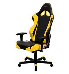 Кресло DXRacer OH/RE0/NY Racing Series, компьютерное, цвет черный/желтый