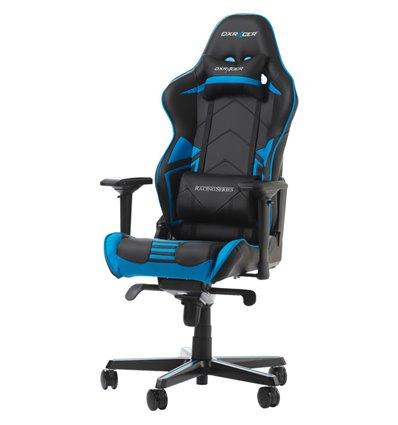 Кресло DXRacer OH/RV131/NB Racing Series, компьютерное, цвет черный/синий