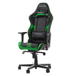 Кресло DXRacer OH/RV131/NE Racing Series, компьютерное, цвет черный/зеленый