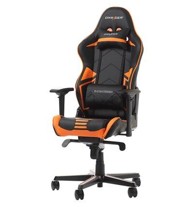 Кресло DXRacer OH/RV131/NO Racing Series, компьютерное, цвет черный/оранжевый