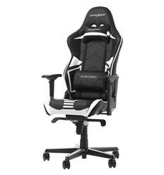 Кресло DXRacer OH/RV131/NW Racing Series, компьютерное, цвет черный/белый