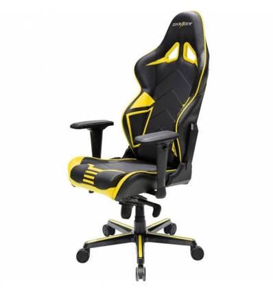 Кресло DXRacer OH/RV131/NY Racing Series, компьютерное, цвет черный/желтый