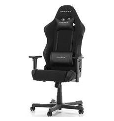Кресло DXRacer OH/RW01/N Racing Series, компьютерное, ткань/экокожа, цвет черный