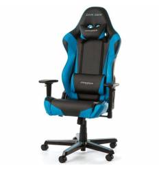 Кресло DXRacer OH/RZ0/NB Racing Series, компьютерное, экокожа, цвет черный/синий