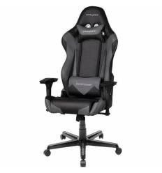 Кресло DXRacer OH/RZ0/NG Racing Series, компьютерное, экокожа, цвет черный/серый