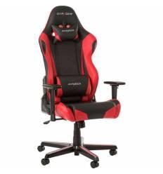 Кресло DXRacer OH/RZ0/NR Racing Series, компьютерное, экокожа, цвет черный/красный