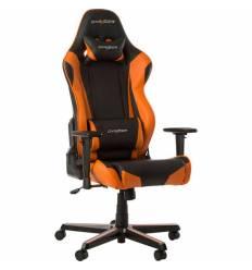 Кресло DXRacer OH/RZ0/NO Racing Series, компьютерное, экокожа, цвет черный/оранжевый