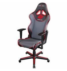 Кресло DXRacer OH/RZ129/NGR/CLG/DXR Racing Series, компьютерное, экокожа, цвет черный/серый/красный
