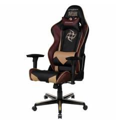 Кресло DXRacer OH/RZ126/NCC/NIP Racing Series, компьютерное, экокожа, цвет черный/коричневый
