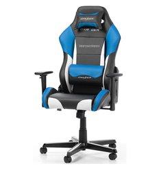 Кресло DXRacer OH/DM61/NWB Drifting Series, компьютерное, экокожа, цвет черный/белый/синий